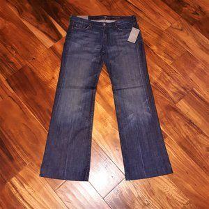 7 For All Mankind NWT Sz 31 Slim Stretch Jeans